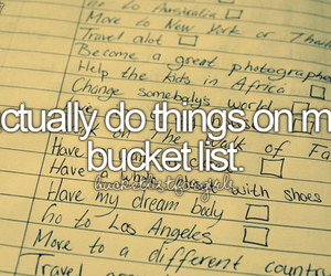 bucket list, before i die, and bucketlist image