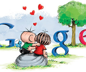 google, cute, and love image