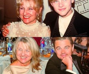 leonardo dicaprio, loves, and mom image