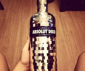 vodka, party, and absolut image