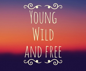young and free image