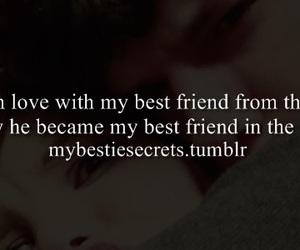 best friend, bestie secrets, and confession image