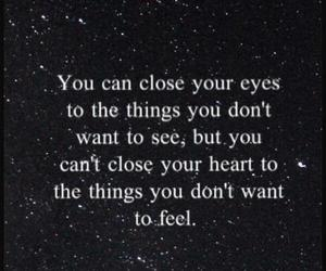close, quote, and eyes image