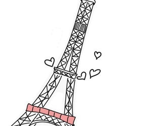 black, country, and eiffel image