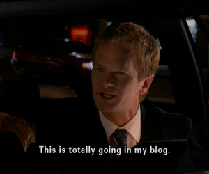 how i met your mother, blog, and barney image