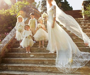 blonde, wedding day, and maid of honor image