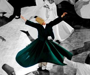 Rumi, sufi, and dervish image