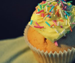 color, cupcake, and muffin image