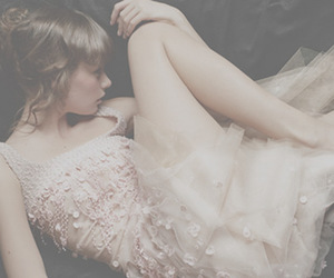 dress, girly, and lovely image