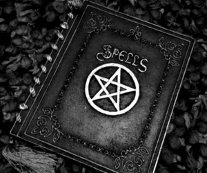 spell, witch, and book image