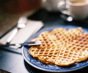 waffles, food, and photography image