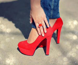 fashion, shoes, and high heels image