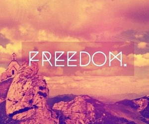 freedom, free, and pink image