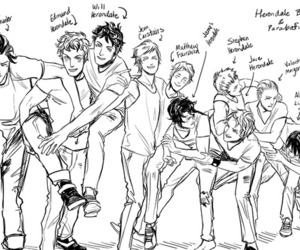 herondale, parabatai, and shadowhunters image