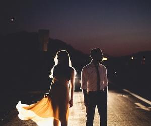 couple, night, and boy image