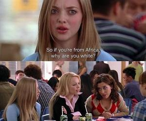 mean girls, funny, and movie image