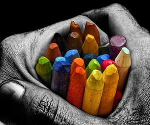 colors, color, and crayon image