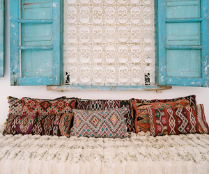 pillow, boho, and home image
