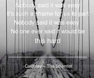 coldplay, grey, and Lyrics image