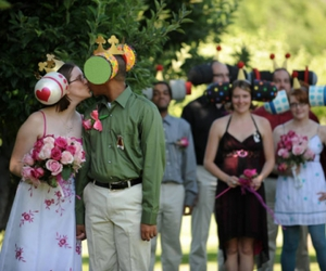 Katamari Damacy Themed Wedding - Chunnel image