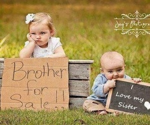 brother and cute image