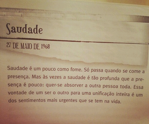 saudade and quote image