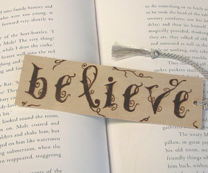 believe, inspiration, and bookmark image