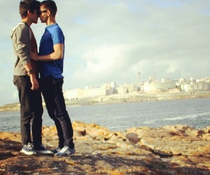 :3, kiss, and love is love image