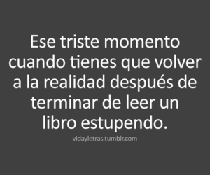 book, frases, and realidad image