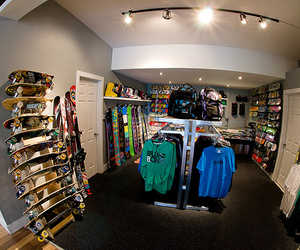 shop, photography, and skate image