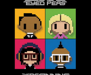 fergie, The Beginning, and black eyed peas image