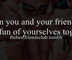 best friends, friendship, and joke image