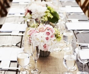 centerpieces, decorations, and Dream image