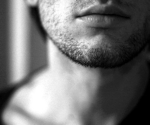 boy, lips, and beard image