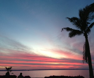 cielo, relax, and sunset image