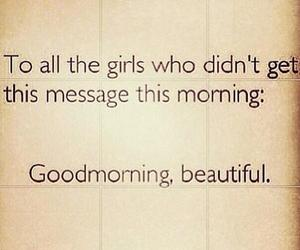 girl, message, and beautiful image