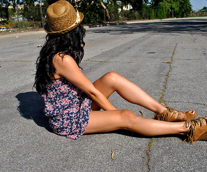 photo, girl, and summer image