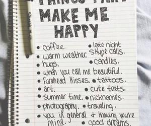 happy, hugs, and coffee image