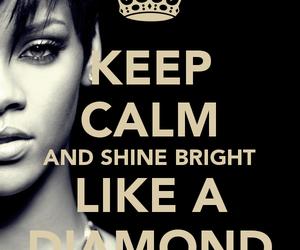 diamond, rihanna, and rihanna diamond image