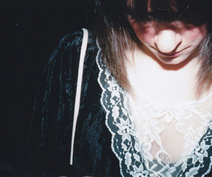 girl and lace image