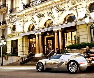 luxury, car, and paris image