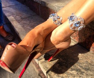 beautiful, heels, and shoes image