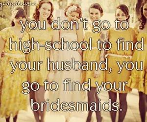 best friends and bridesmaids image