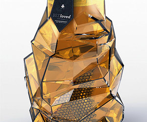 honey, design, and packaging image