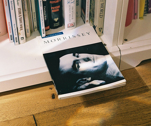 book, morrissey, and vintage image