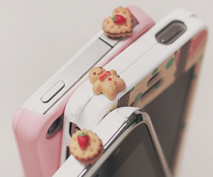cute, cookie, and iphone image