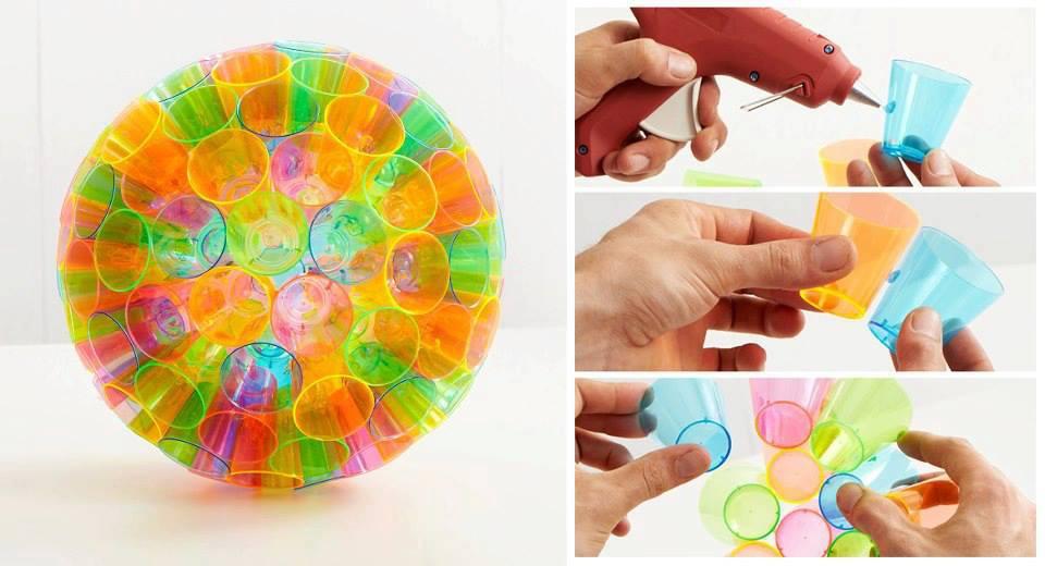 Diy plastic cup lampshade diy projects usefuldiy aloadofball Gallery