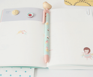 notebook, kawaii, and cute image