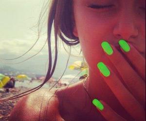 nails, summer, and girl image