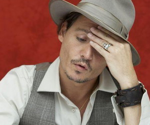 acessories, actor, and depp image